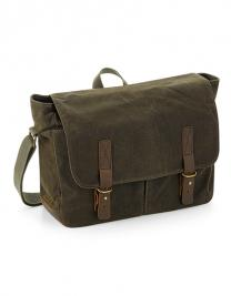 Heritage Waxed Canvas Messenger